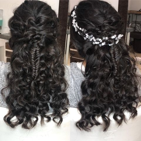 Luscious Long Black Hairstyles