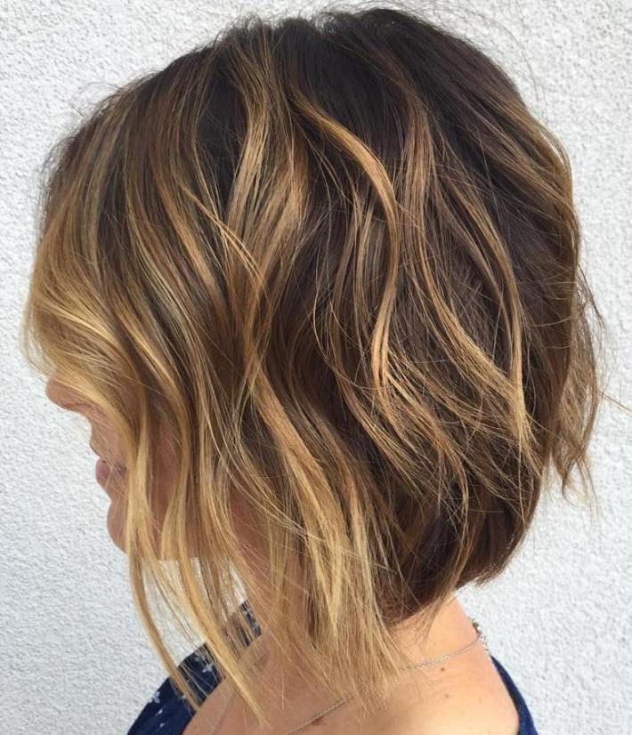 wavy bob haircut 2022